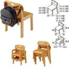 画像2: 園児用椅子ココナ 業務用 施設 保育園 幼稚園1才児、2才児、3才児、4才児、5才児 (2)