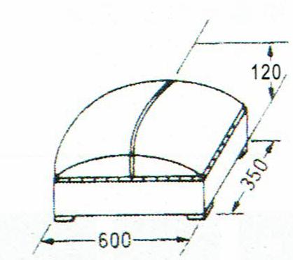 画像1: 巧技台ワイド用ワイド頭部 (1)