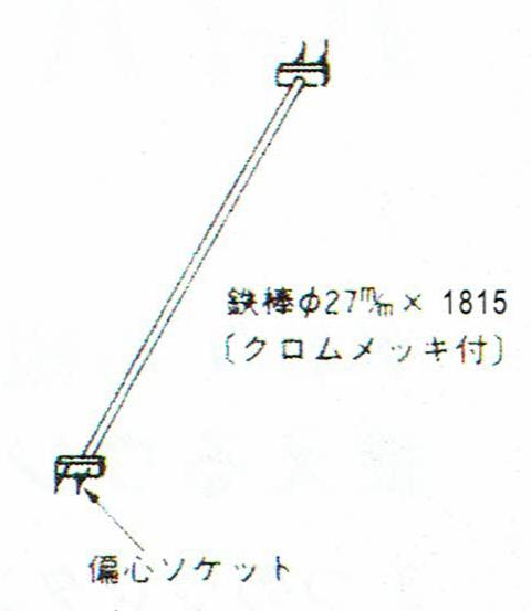 画像1: 巧技台ワイド用鉄棒 (1)