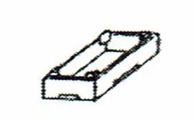 画像1: 巧技台バラ売り 大わく(高さ19.7cm)ピンク 送料無料 (1)