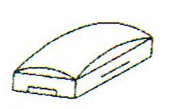 画像1: 巧技台バラ売り 旧型頭部グリーン 送料無料 (1)