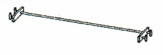 画像1: 巧技台バラ売り 鉄棒 送料無料 (1)
