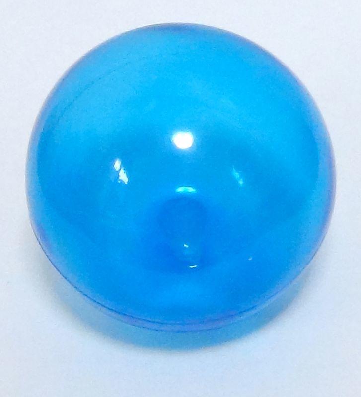 画像1: クリアカラーボール 15cm ブルーバラ売り (1)