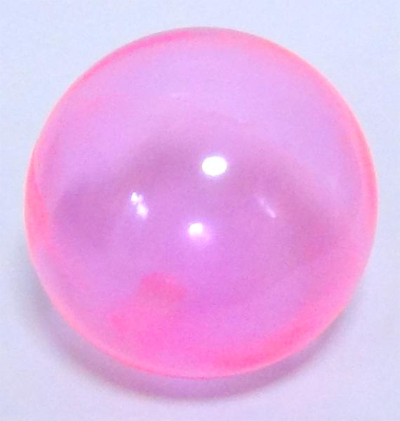 画像1: クリアカラーボール 15cm ピンクバラ売り (1)