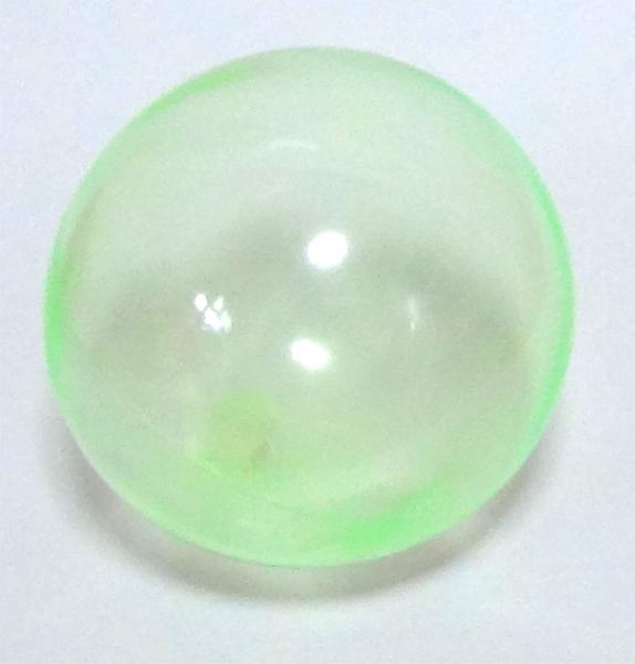 画像1: クリアカラーボール 15cm グリーンバラ売り (1)