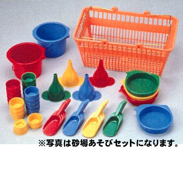 画像1: 砂場あそび ※カラーバケツ単品8個組セット【保育園、幼稚園向け】 (1)