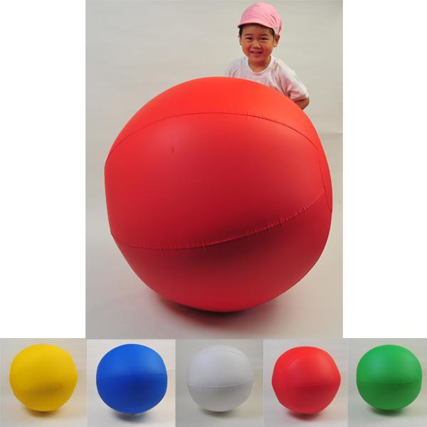画像1: 【送料無料】新カラー大玉ボール 100cm  【運動会・体育祭・大玉転がし、運動会用品】 (1)
