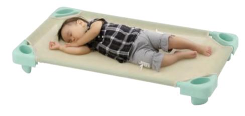 画像1: スタッキングベット 1000業務用お昼寝ベッド (1)